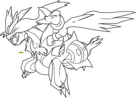 pokemon coloring pages black kyurem kyurem free coloring pages
