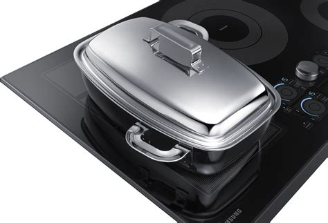 Samsung Induction Cooktop Nz36k7880ug Samsung 36 Quot Induction Cooktop Black Stainless Steel Trim