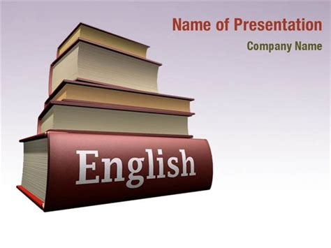 themes for presentation in english learning english powerpoint templates learning english