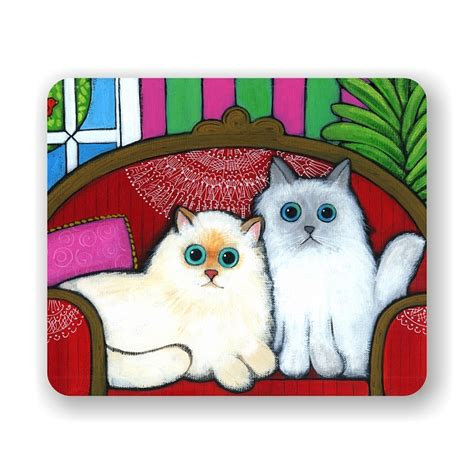 couch mouse pad cats on couch mouse pad 9 25 quot x 7 75 quot