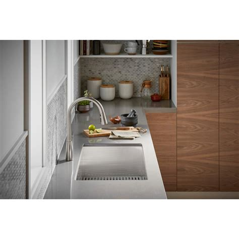 under sink mat home depot sterling ludington undermount stainless steel 32 in