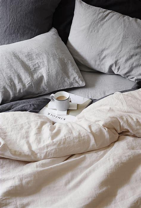 linen vs cotton sheets anthropologie soft washed linen duvet copycatchic