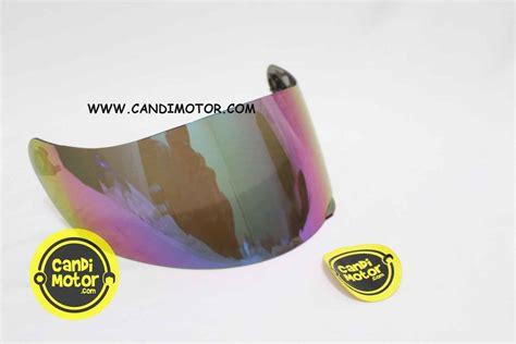 Kaca Helm Iridium Silver Visor Agv K3 Sv K3sv K5 After Market Import visor agv k3sv iridium silver gold rainbow smoke candi motor 5 isle motoland