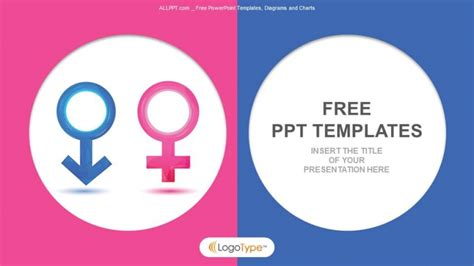 powerpoint templates free download gender male and female icons education ppt templates 1