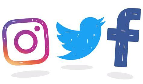 facebook instagram logos transparent 500 twitter logo latest twitter logo icon gif