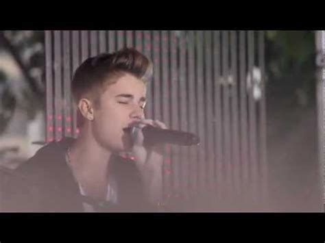 justin bieber love me like you do acoustic justin bieber 18 july 2012 sunrise love me like you