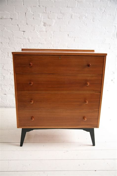 1950s Chest Of Drawers by 1950s Chest Of Drawers And Chrome