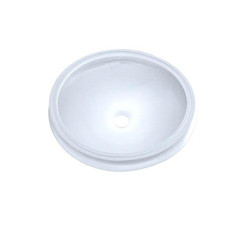 toto undermount bathroom sink toto curva 14 in undermount bathroom sink in cotton white