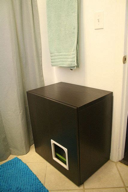 litter box bathroom litter box cabinet hack flickr photo sharing