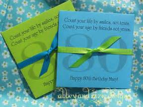 Favors For 80th Birthday by 80th Birthday Favors By Abbeyandizziedesigns On Etsy