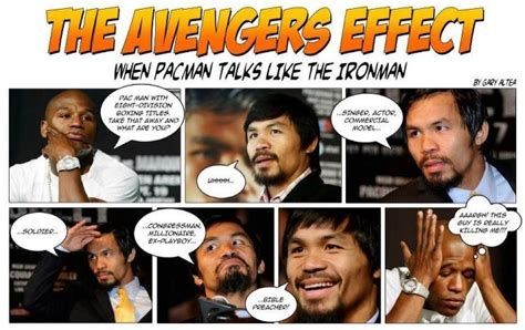 Pacquiao Mayweather Memes - what if pacman talks like the ironman in the avengers