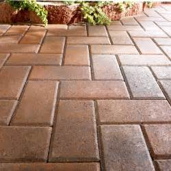 Lowes Paver Patio Wall Blocks Pavers And Edging Stones Guide