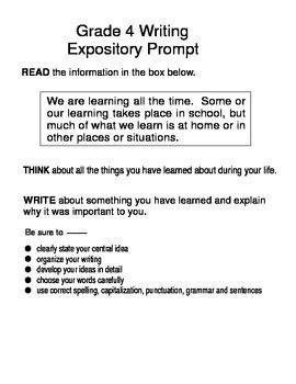 sle expository essay 4th grade informative essay prompts 4th grade docoments ojazlink