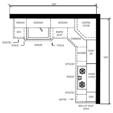 modern kitchen floor plan building ideas part 9