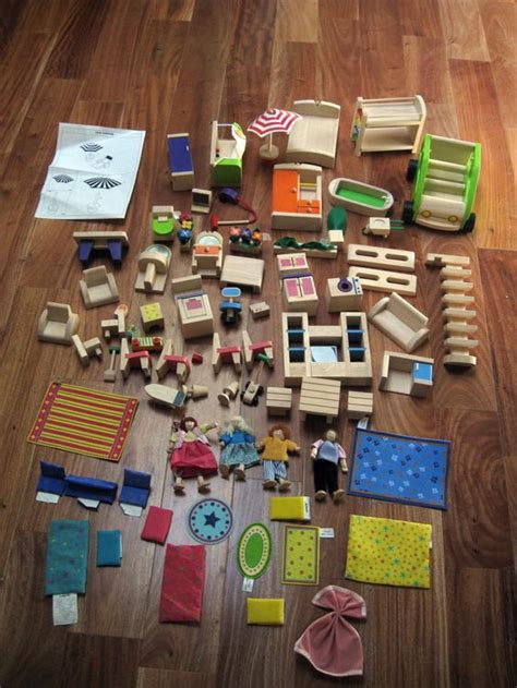 battat doll house mint huge lot 70 battat wooden dollhouse furniture accessories dolls patio rare
