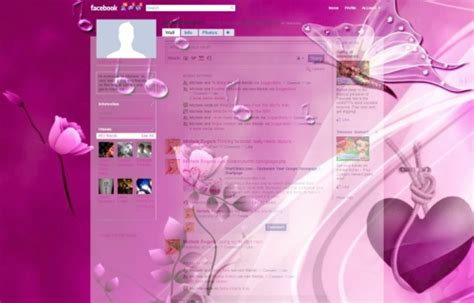Free Themes Facebook Profile | butterfly musical www crfx co uk facebook layouts