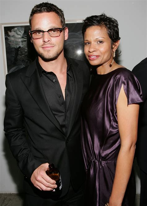 actors that have black wives justin chambers and his wife keisha