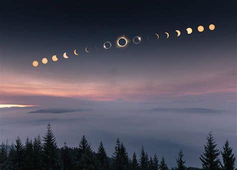 imagenes abstractas las mejores las mejores fotos del eclipse solar del 21 de agosto 2017