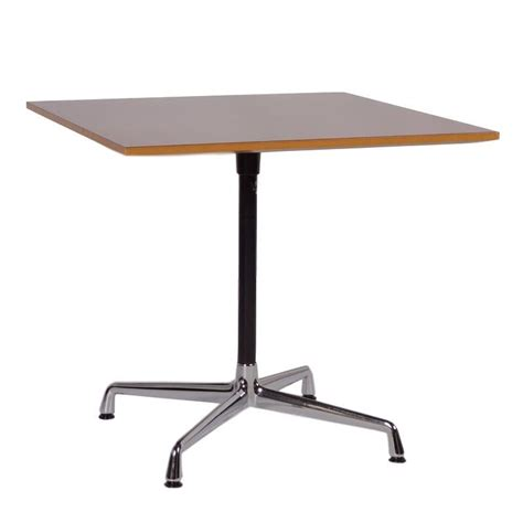 vintage square eames table by vitra ztijl