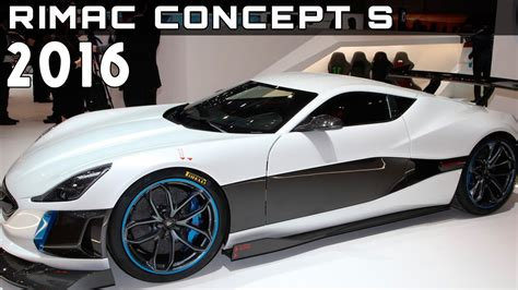 rimac concept s price 2016 rimac concept s review rendered price specs release