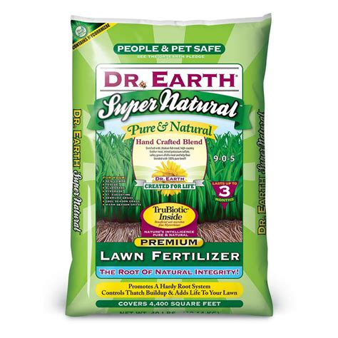 dr earth 40 lb lawn fertilizer 829 the