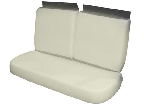chevelle bench seat 1971 1972 chevelle front bench seat foam set