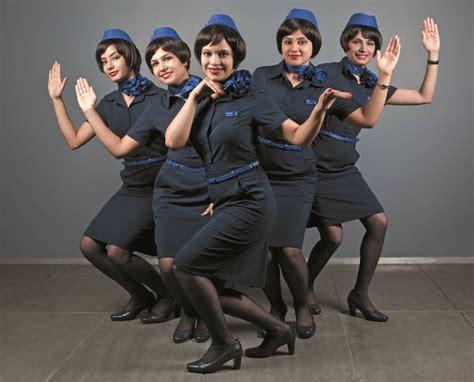 new cabin crew of indigo world stewardess crews