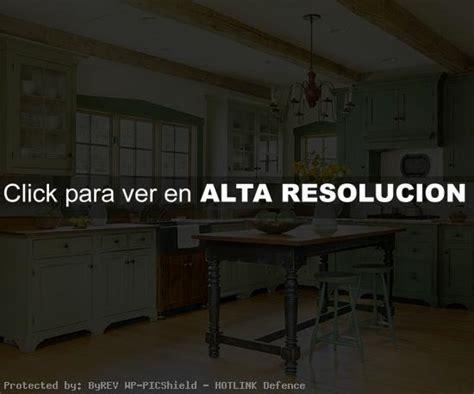 Wooden Furniture For Kitchen decoraci 243 n de ambientes en color verde decoracion de