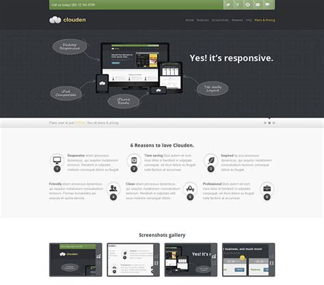 28 one page landing page template 80 high converting