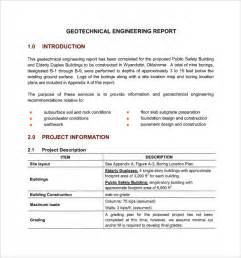 Engineering Template by Sle Engineering Report 14 Documents In Pdf