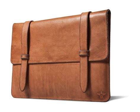 handcrafted leather vichithong laptop cases the monsieur