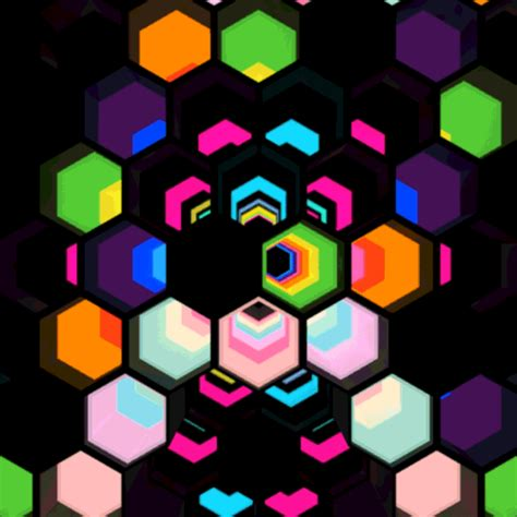 gif wallpaper on ipad pin download hexagon glow 1024x1024 ipad wallpaper