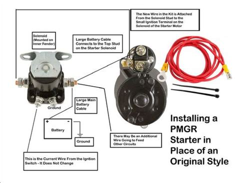 ford starter solenoid wiring diagram efcaviation