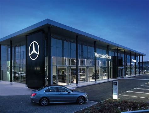 mercedes showroom exterior modern building car dealer joy studio design gallery