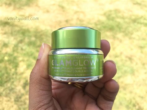 Glamglow Detox Mask by Glamglow Powermud Dual Cleanse Treatment Review