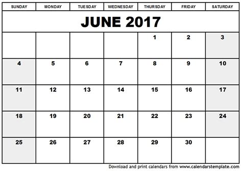 Free Fillable Calendar Template by Free Printable Calendar Free Printable Calendar June