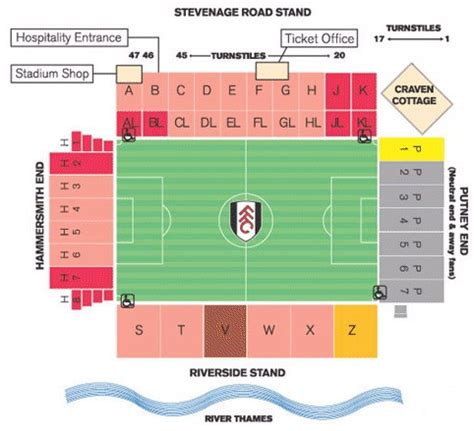 craven cottage seating plan mexico photos