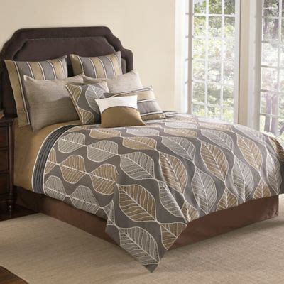brown and grey comforter set buy brown comforter sets from bed bath beyond