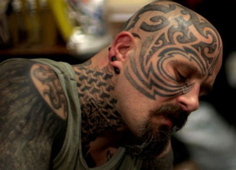 tattoo tribal creator crazy tattooing extremists 80 pics izismile com