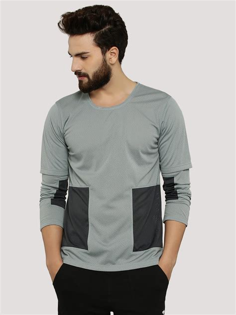 Sleeve Panel T Shirt buy zero zero panel t shirt with layer sleeves for