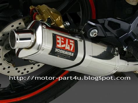 Leher Knalpot Jupiter Mx Stainless palex motor parts new yoshimura exhaust stainless trioval for lc135