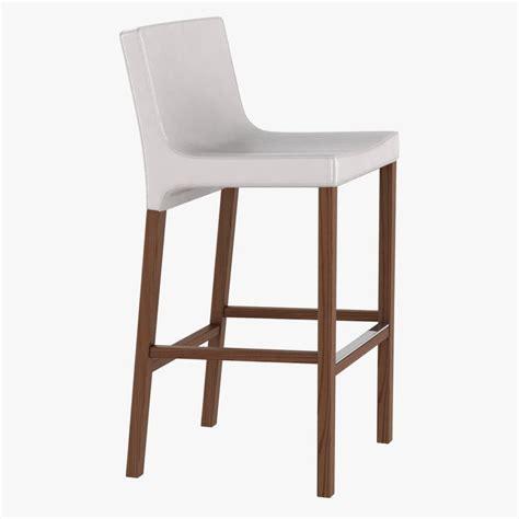 blu dot bar stool barstool chairs stools 3d model