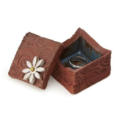 ceramic jewelry box treasure box keepsake gift box