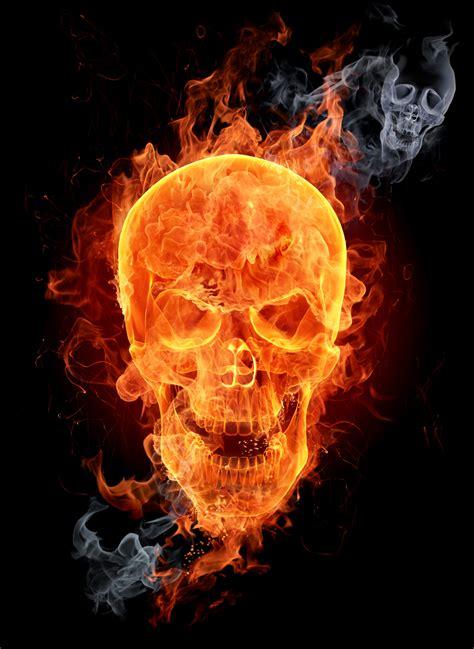 flaming skull shirt and motorcycle shirts