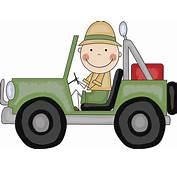 Safari Jeep Clipart  Clip Art Library