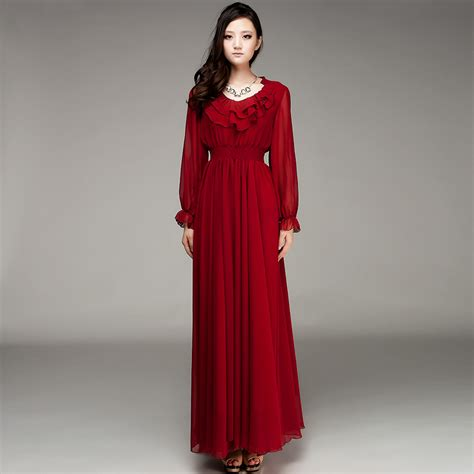 Longdress Maxy sleeve maxi dress dressed up
