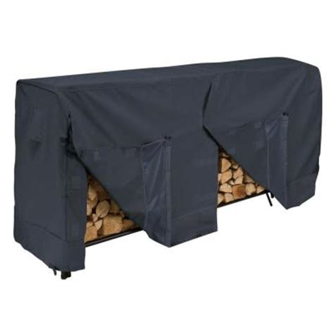 Home Depot Wood Rack by Classic Accessories 8 Ft Firewood Rack Cover
