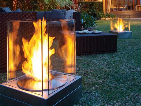 Biofuel Outdoor Fireplace by Bioethanol Outdoor Fireplace Mini T By Ecosmart