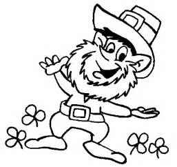 leprechaun coloring page digital dunes leprechaun happy coloring pages