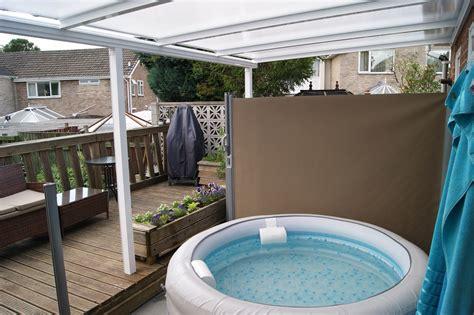 hot tub awnings hottub